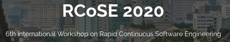 Logo of the RCoSE 2020