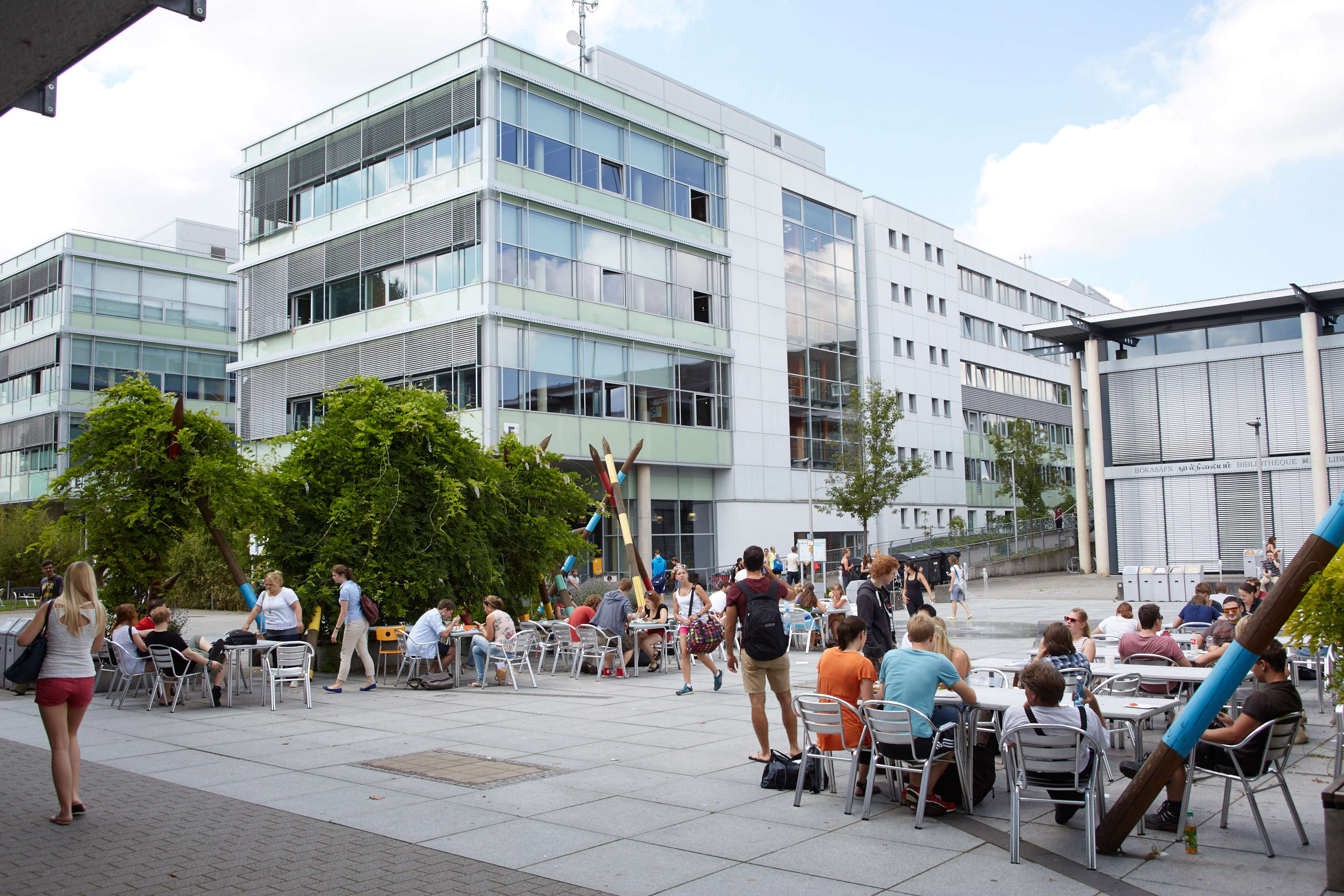 A picture of the University of Koblenz-Landau, Germany